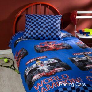 Dekbedovertrek Racing Cars