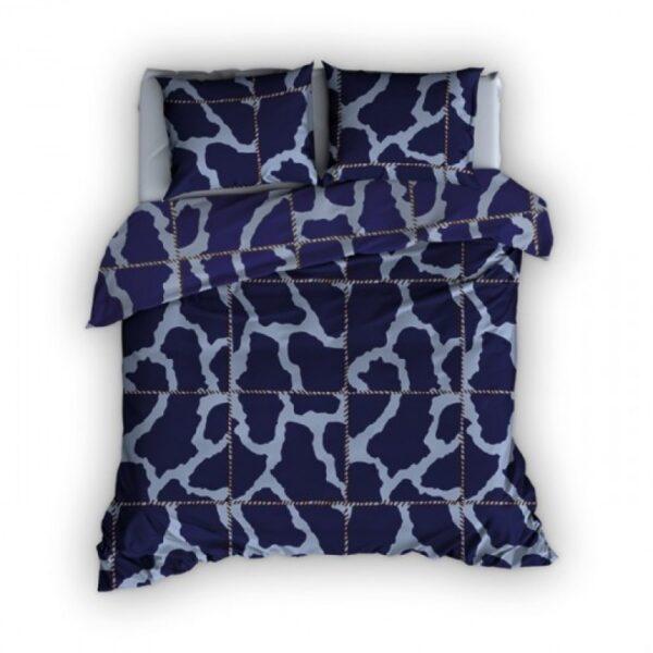 Dekbedovertrek Romanette Army Blauw