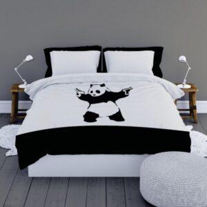 Dekbedovertrek Satin D'or Panda